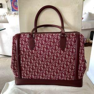 Unused Christian Dior Monogram Large Doctor's Bag